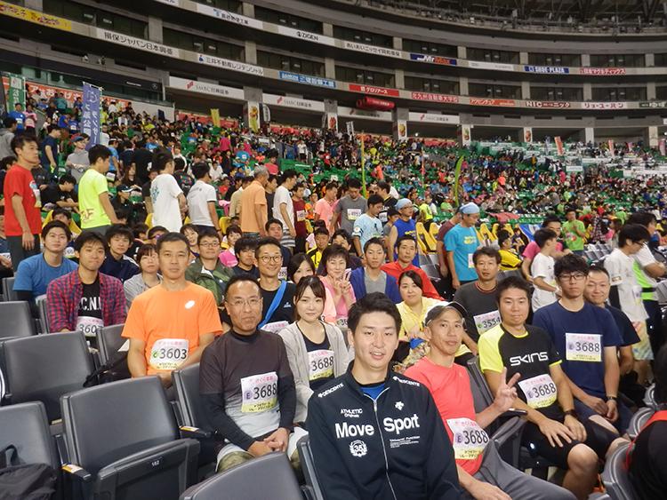 ヤフオクドームリレーマラソン2019